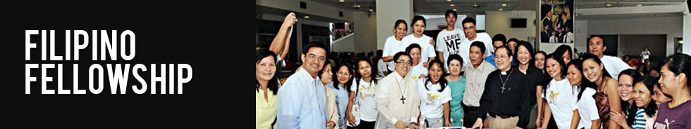 Filipino Ministry Schedule & Activities